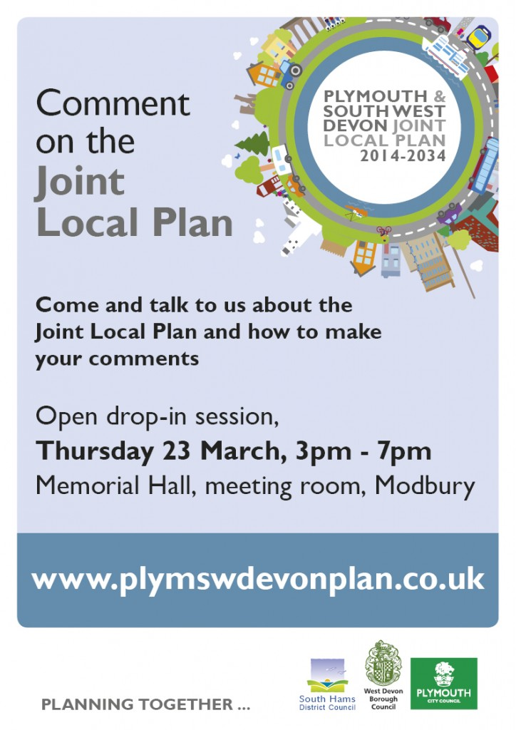 JOINT LOCAL PLAN EVENT – THE FUTURE FOR OUR AREA